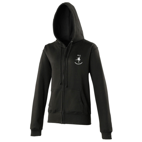 Senior's Ladies Fit Zipped Hoodie