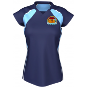 Girls Fitted P.E Polo