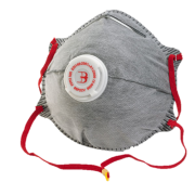 P2 Charcoal Valved Mask