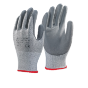 Glass Fibre PU Cut Level 5 Gloves