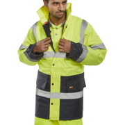 Two-Toned Traffic Jacket